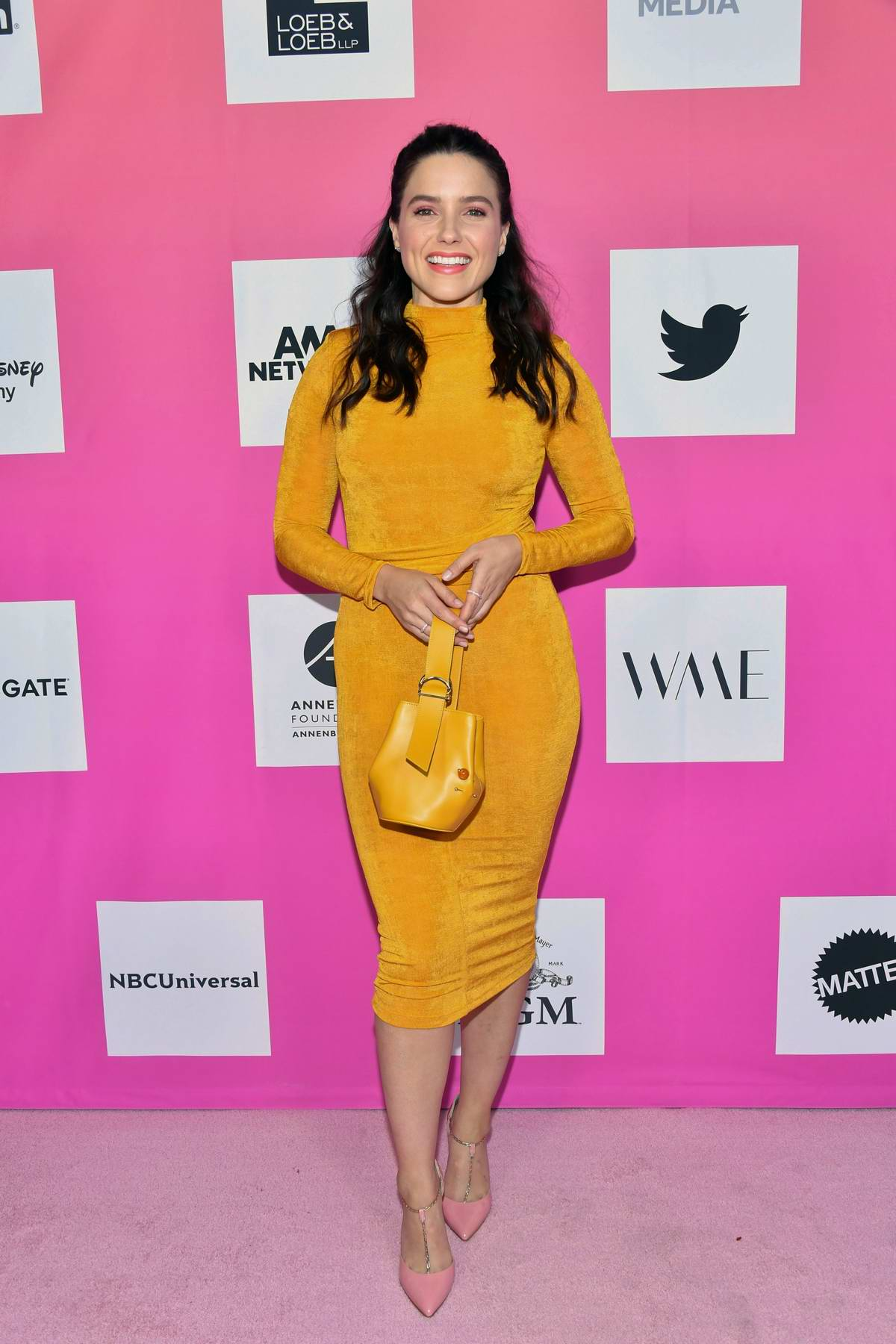 Sophia Bush attends TheWrap's Power Women Summit 2019 in Santa Monica, California