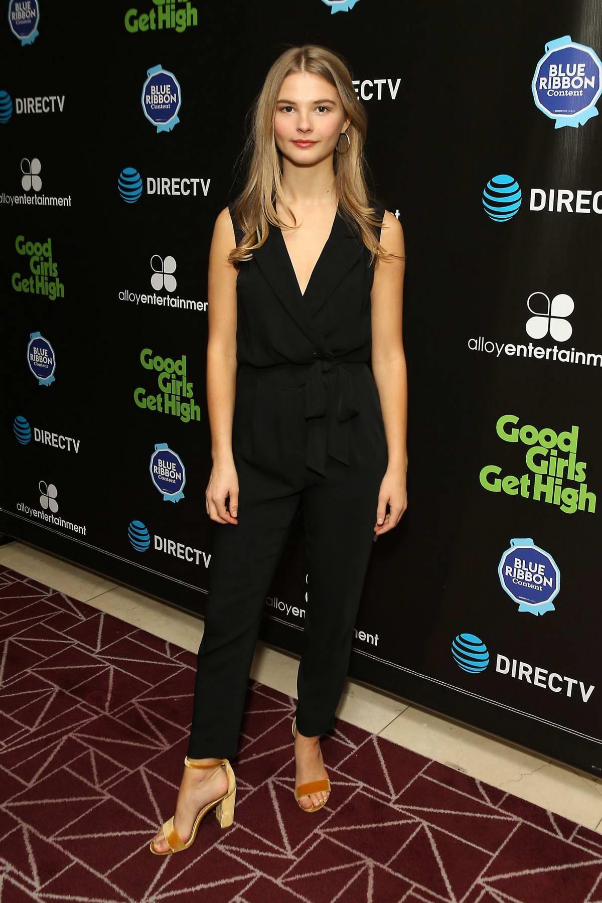Stefanie Scott attends 'Good Girls Get High' photocall in ...