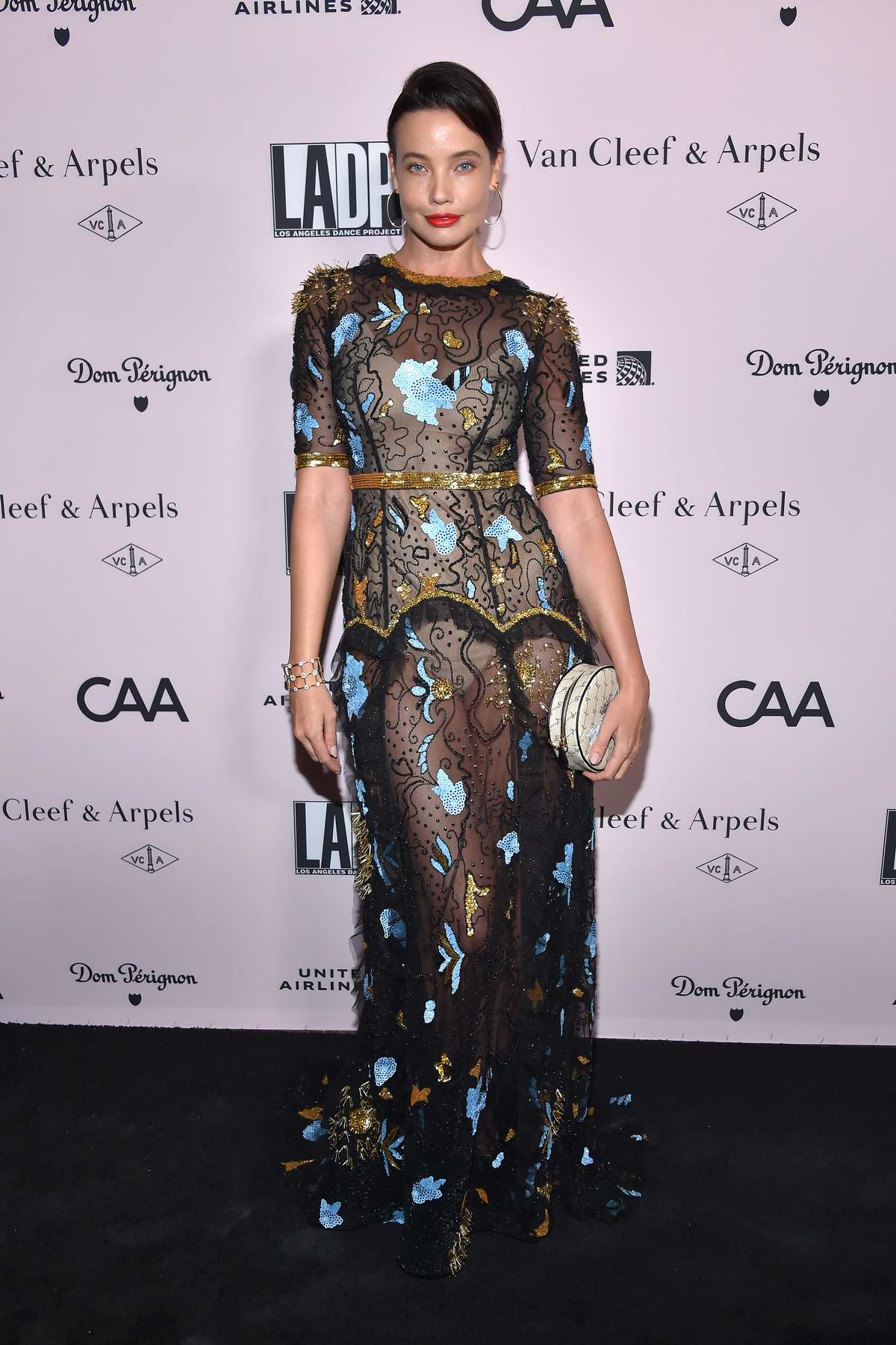 Stephanie Corneliussen attends the LA Dance Project Gala at Hauser & Wirth in Los Angeles