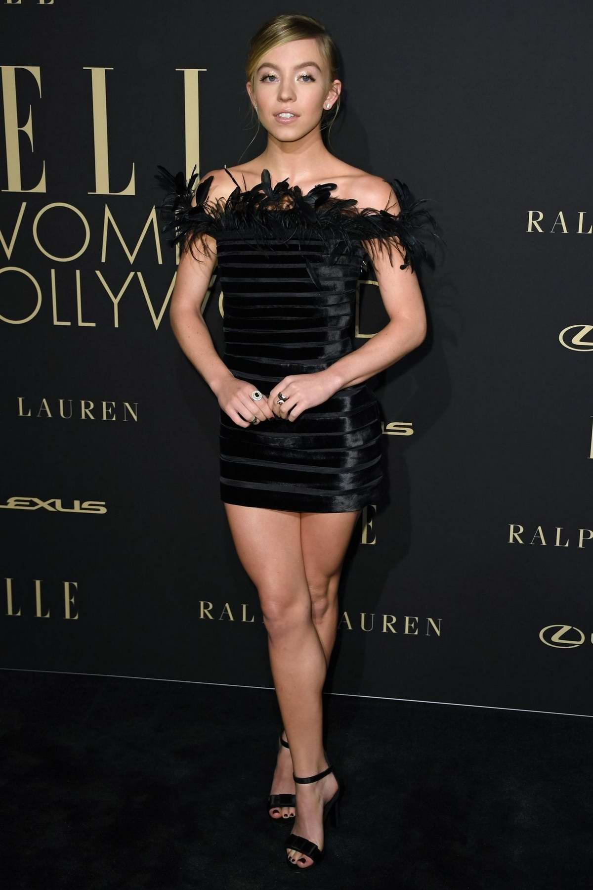 Sydney Sweeney attends ELLE's 26th Annual Women In Hollywood Celebration at The Four Seasons Hotel in Beverly Hills, California