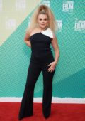 Tallia Storm attends UK Premiere of 'Portrait Of A Lady On Fire' during the 63rd BFI London Film Festival in London, UK