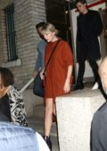 Taylor Swift attends Madonna's concent at the Howard Gilman Opera House at BAM in Brooklyn, New York City