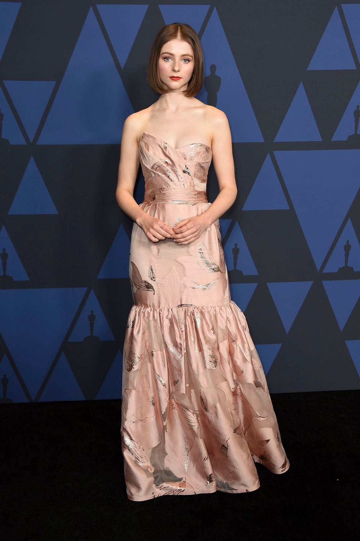 Thomasin McKenzie attends the Academy of Motion Picture Arts and Sciences' 11th Annual Governors Awards in Hollywood, California