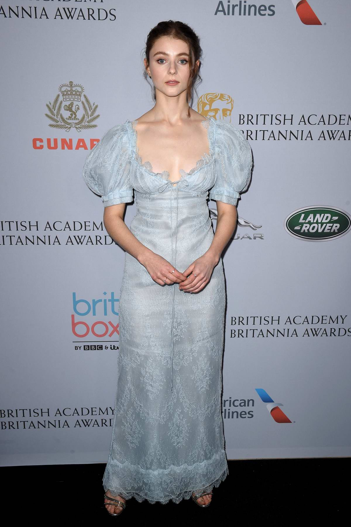 Thomasin McKenzie attends the British Academy Britannia Awards 2019 in Beverly Hills, California