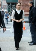 Tuppence Middleton seen arriving Build Series in New York City
