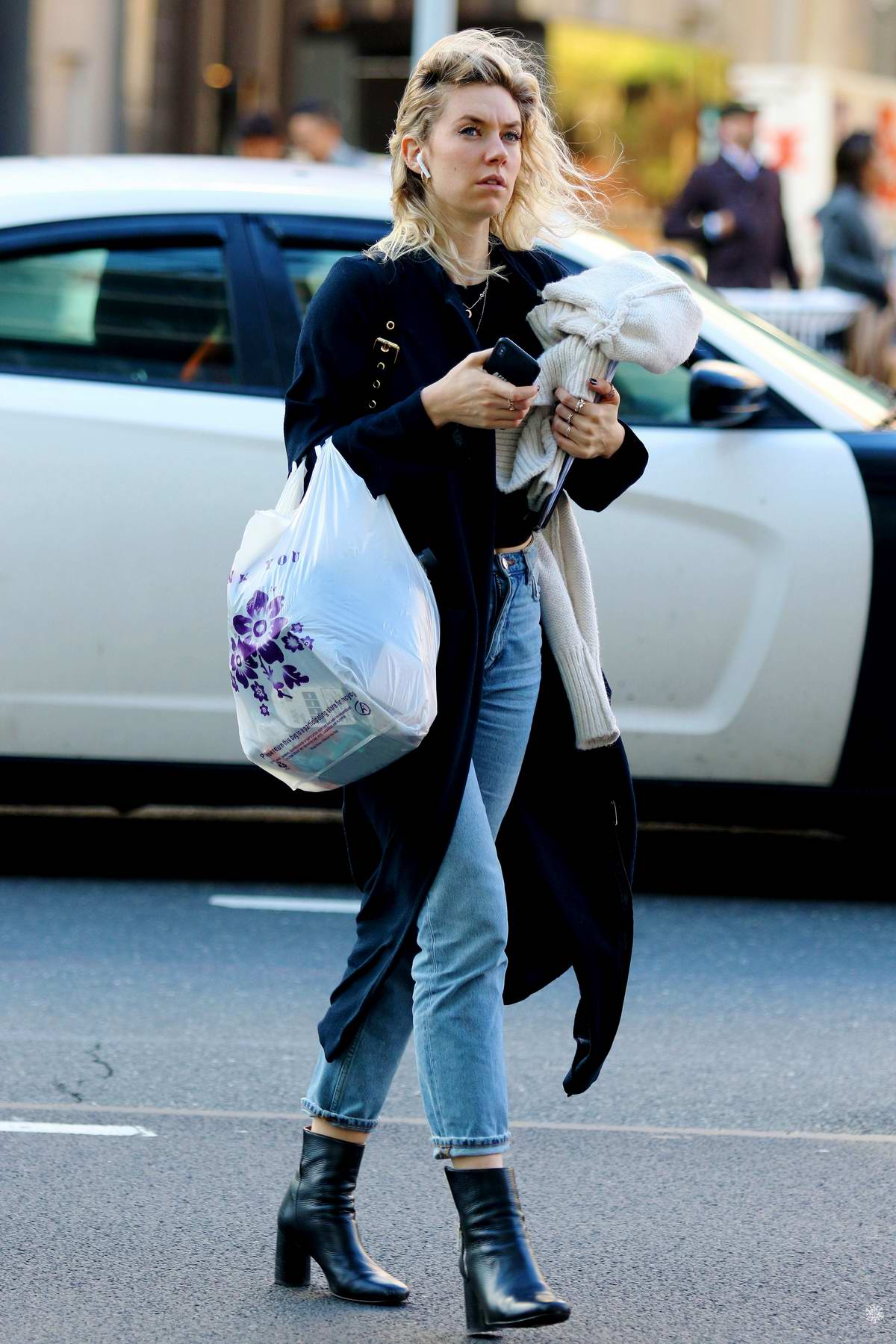 Vanessa Kirby spotted while running a few errands in New York City