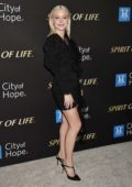 Zara Larsson attends the City Of Hope Spirit Of Life Gala 2019 in Santa Monica, California