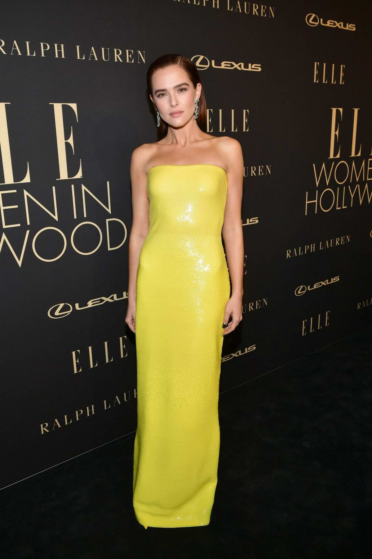 Zoey Deutch attends ELLE's 26th Annual Women In Hollywood Celebration at The Four Seasons Hotel in Beverly Hills, California