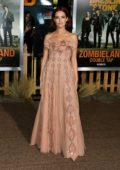 Zoey Deutch attends 'Zombieland: Double Tap' premiere at Regency Village Theater in Westwood, California