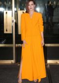 Zoey Deutch stuns in bright yellow as she visits the 'Today' Show in New York City