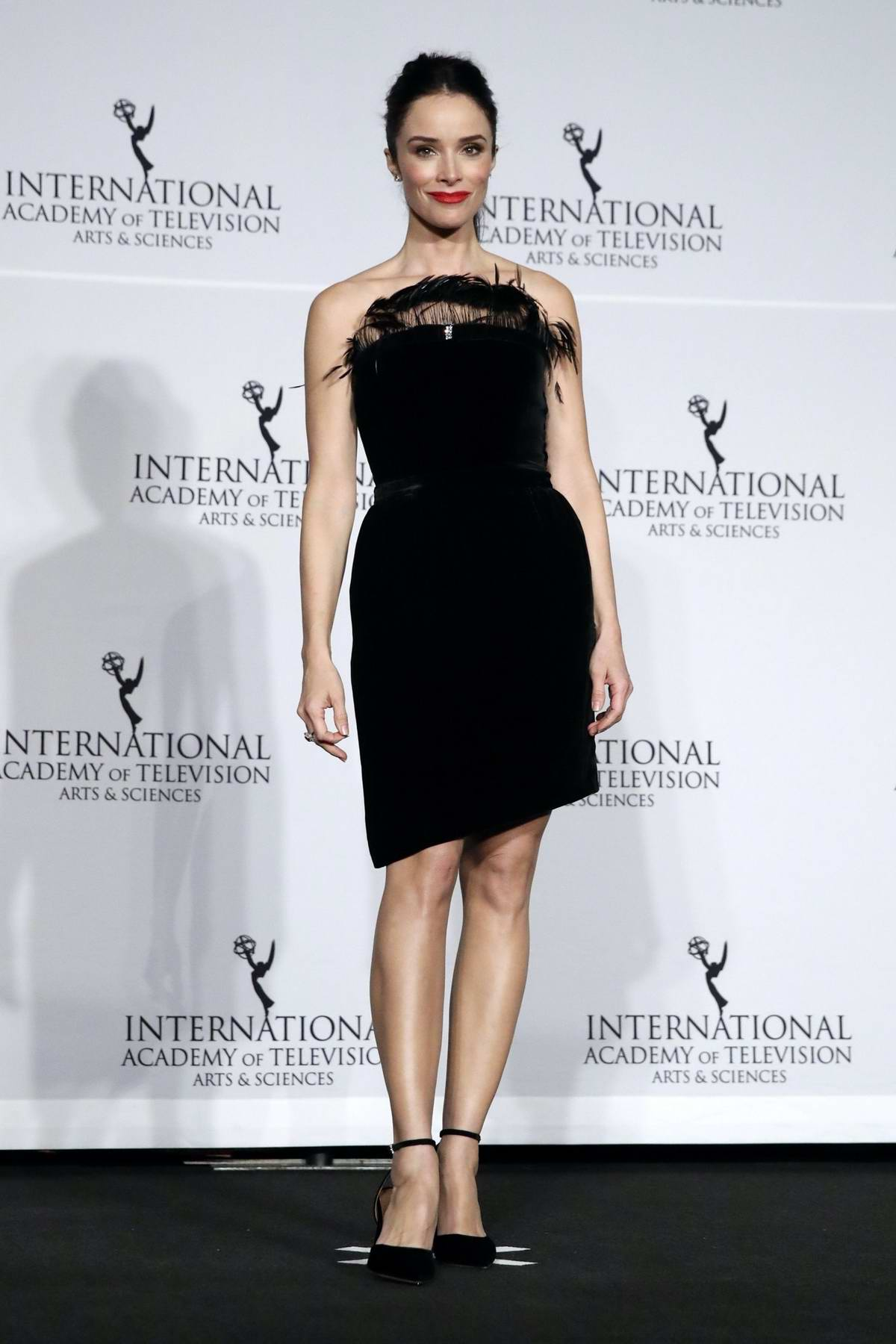 Abigail Spencer attends the 47th International Emmy Awards Gala in New York City