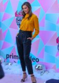 Alessandra Ambrosio attends the Amazon's LOL Surprise! Winter Disco movie in Century City, California