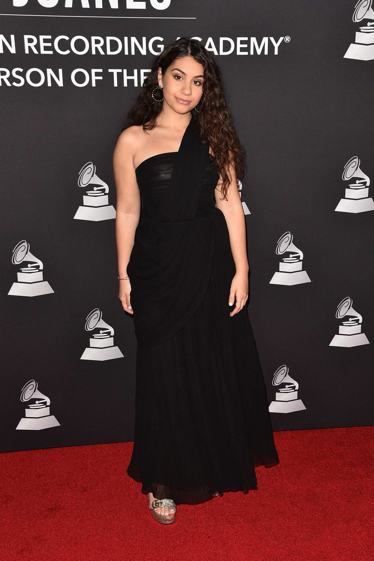 Alessia Cara attends the 2019 Latin Recording Academy Person of the Year Gala in Las Vegas, NV