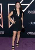 Aly Raisman attends the Premiere of 'Charlie's Angels' at Westwood Regency Theater in Los Angeles