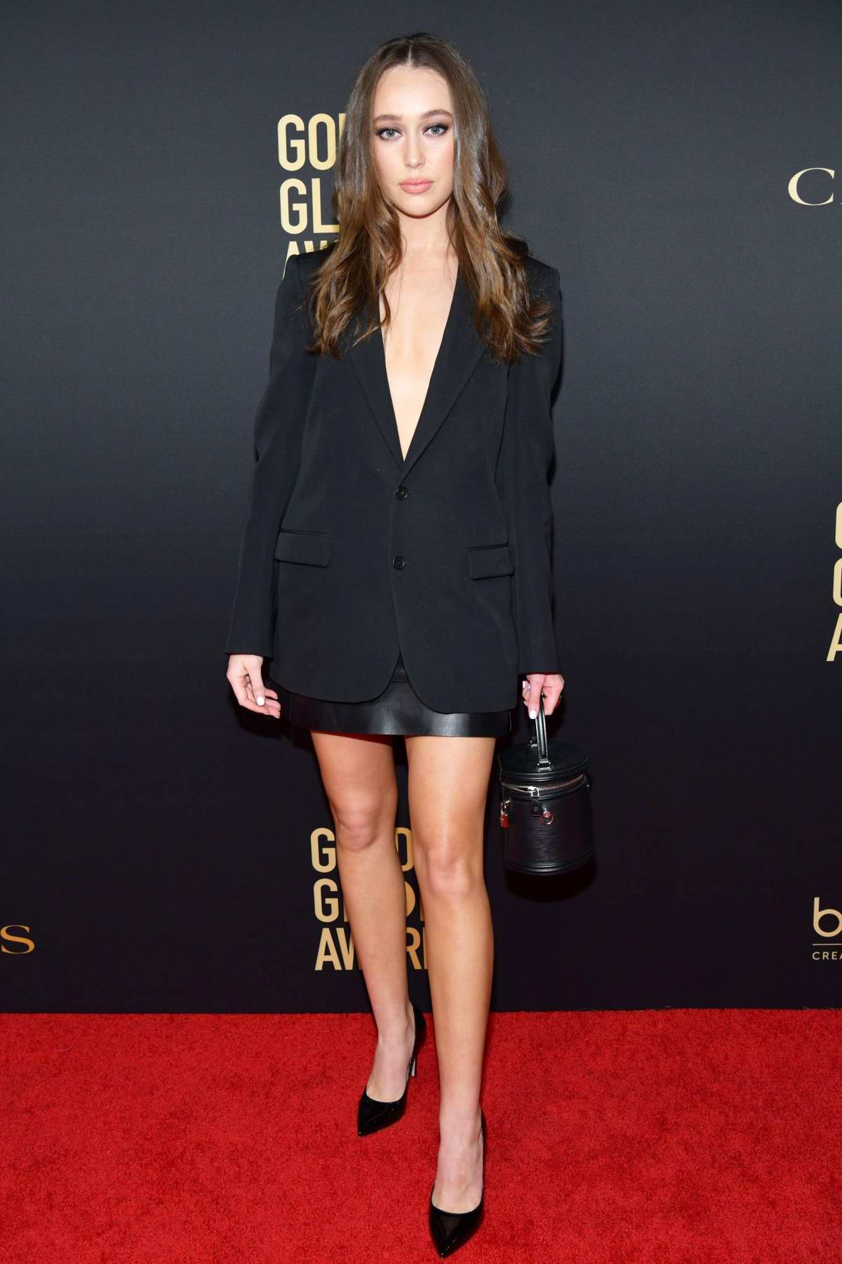 Alycia Debnam-Carey attends the Golden Globe Ambassador Launch Party in Los Angeles