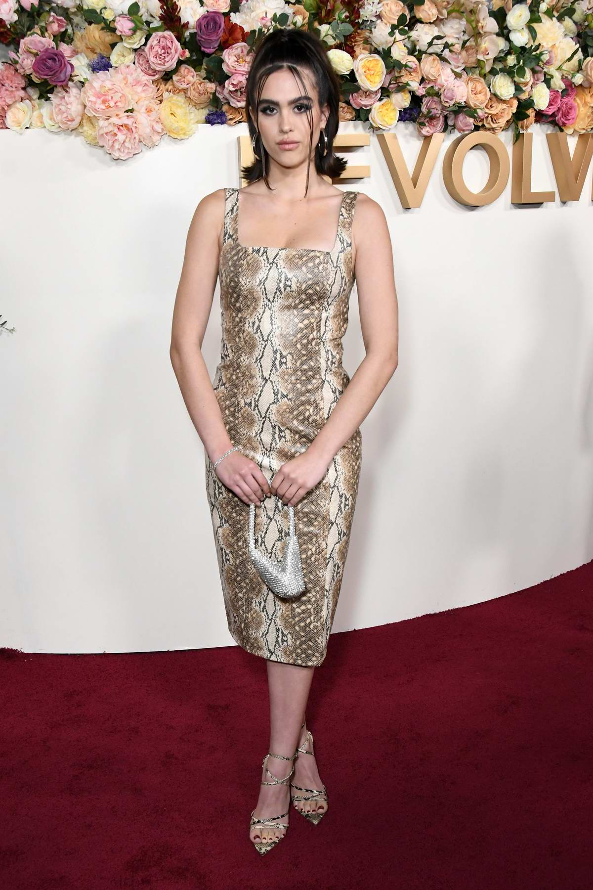 Amelia Hamlin attends the 3rd Annual REVOLVE Awards at Goya Studios in Hollywood, California