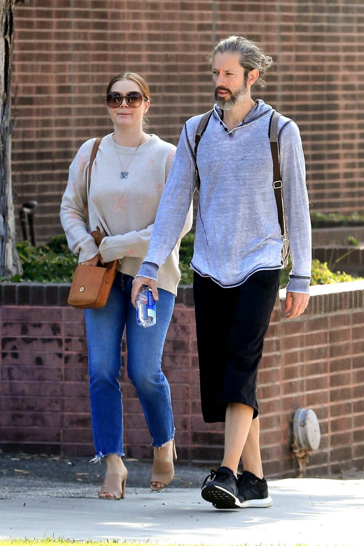 Amy Adams and husband Darren Le Gallo step out together in Beverly Hills, Los Angeles
