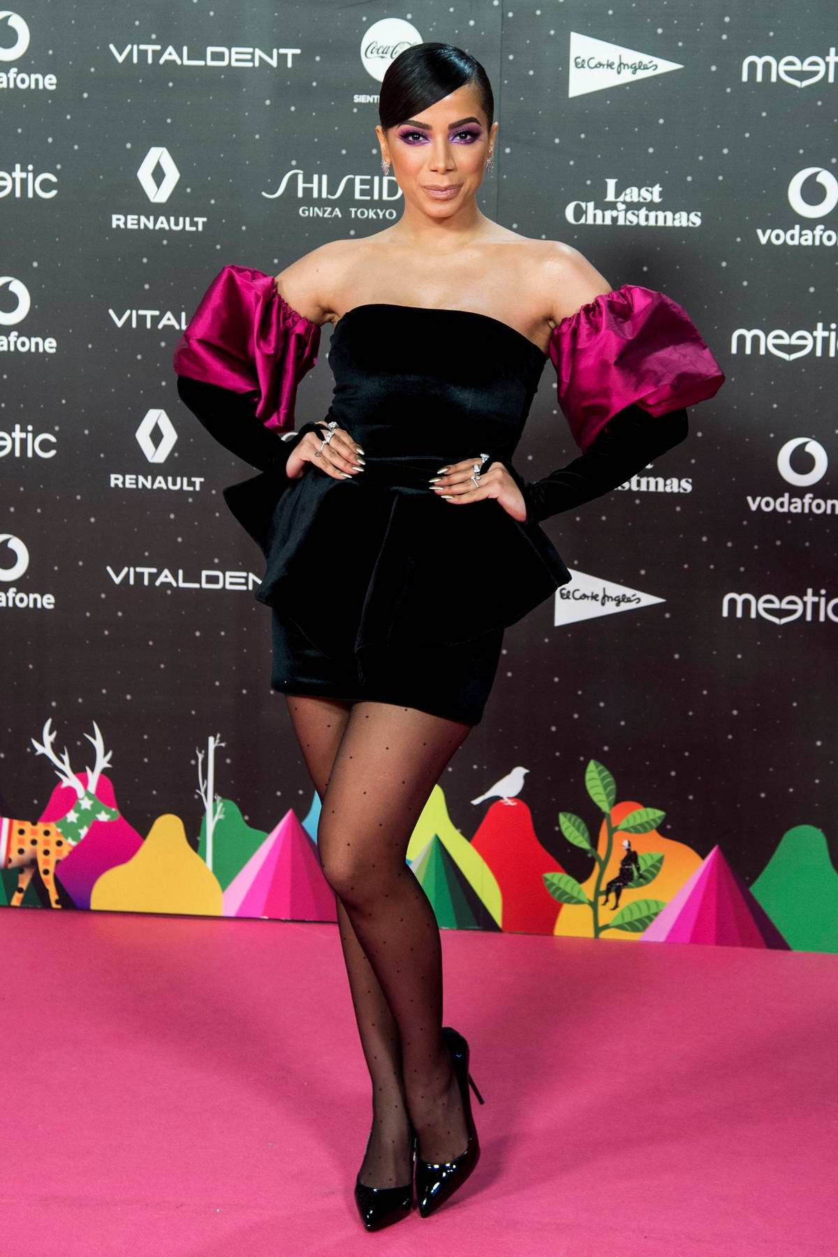 Anitta attends the LOS40 Music Awards 2019 at the WiZink Center in Madrid, Spain