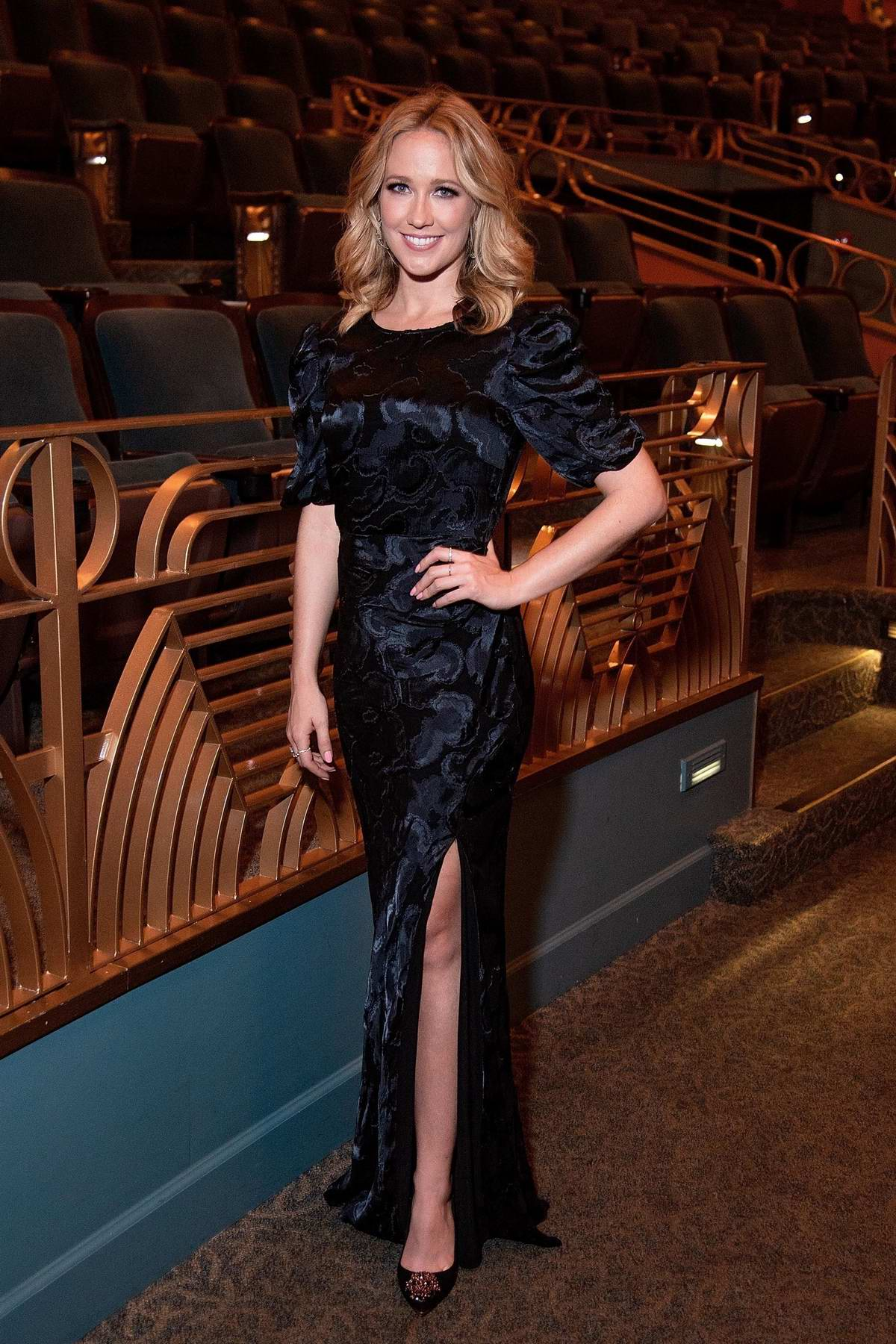 Anna Camp attends a special screening of 'Here Awhile' during the 2019 Napa Film Festival at the Uptown Theatre in Napa, California