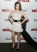 Anna Kendrick attends a screening of Disney's 'Noelle' at SVA Theatre in New York City