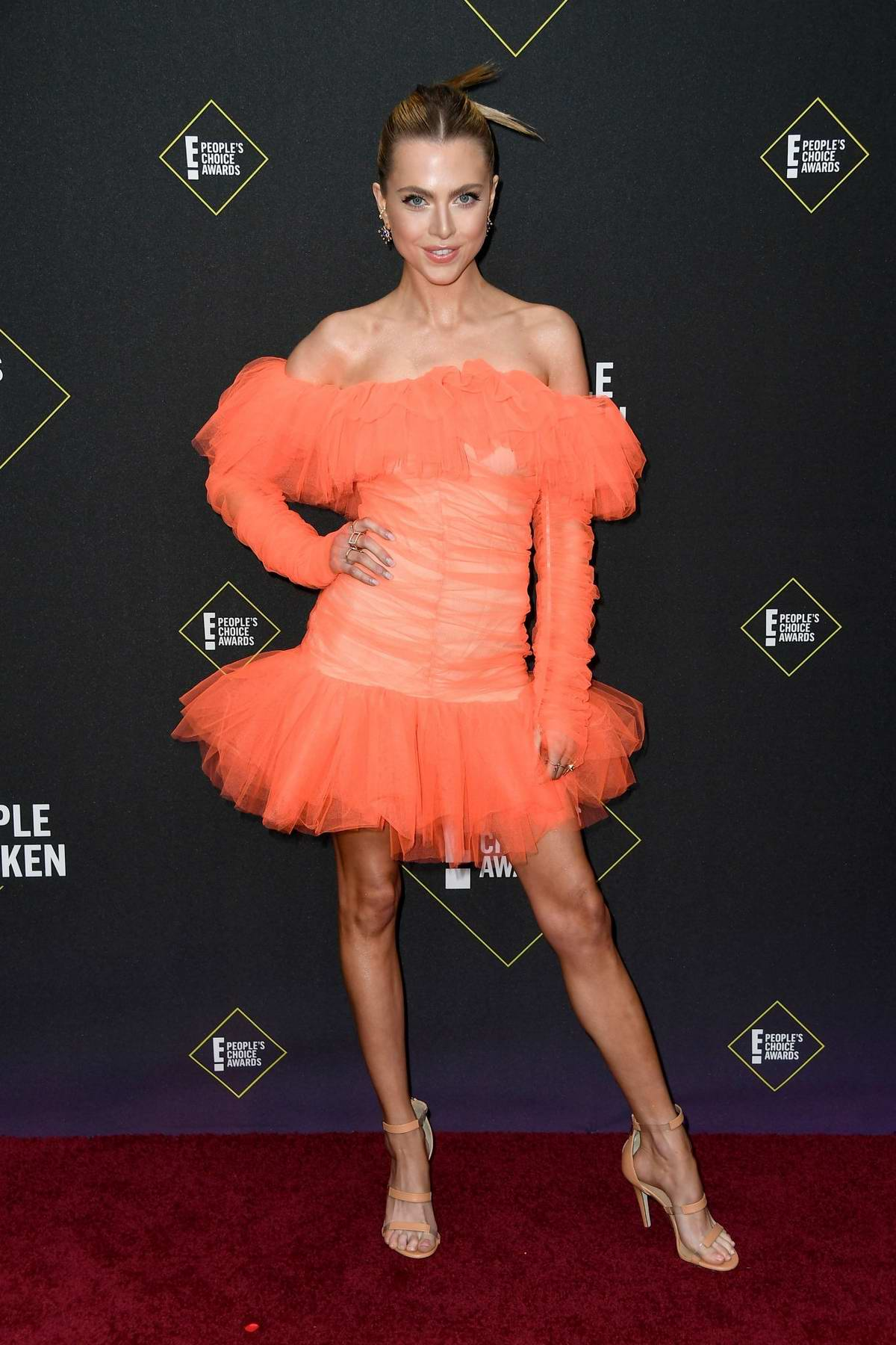 Anne Winters attends the 2019 E! People's Choice Awards held at the Barker Hangar in Santa Monica, California