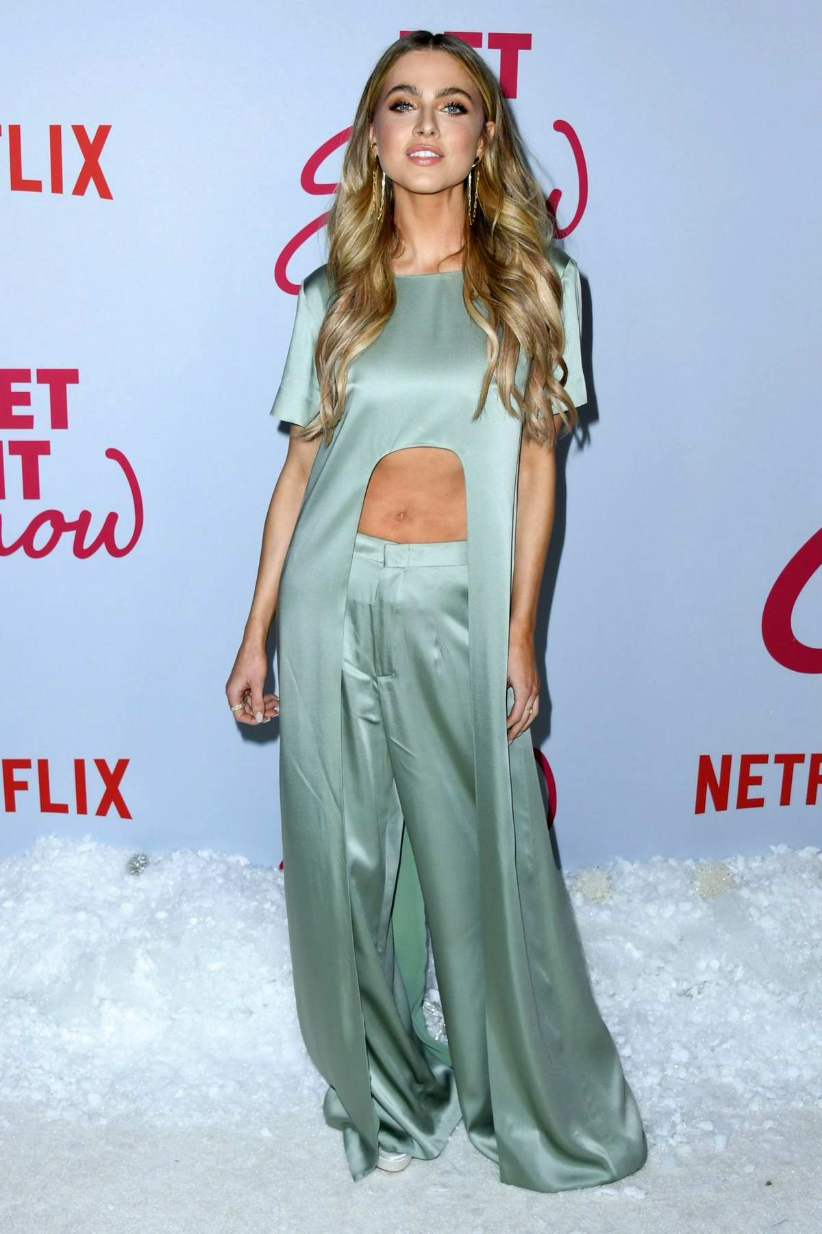 Anne Winters attends the Premiere of Netflix's 'Let It Snow' in Los Angeles