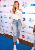 Ava Michelle attends UCLA Mattel Children's Hospital's 20th Annual Party On The Pier in Santa Monica, California