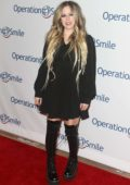 Avril Lavigne attends the Operation Smile hosts Hollywood Fight Night in Los Angeles