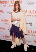 Barbara Palvin attends Heidi Klum's 20th Annual Halloween Party at Cathédrale Restaurant in New York City