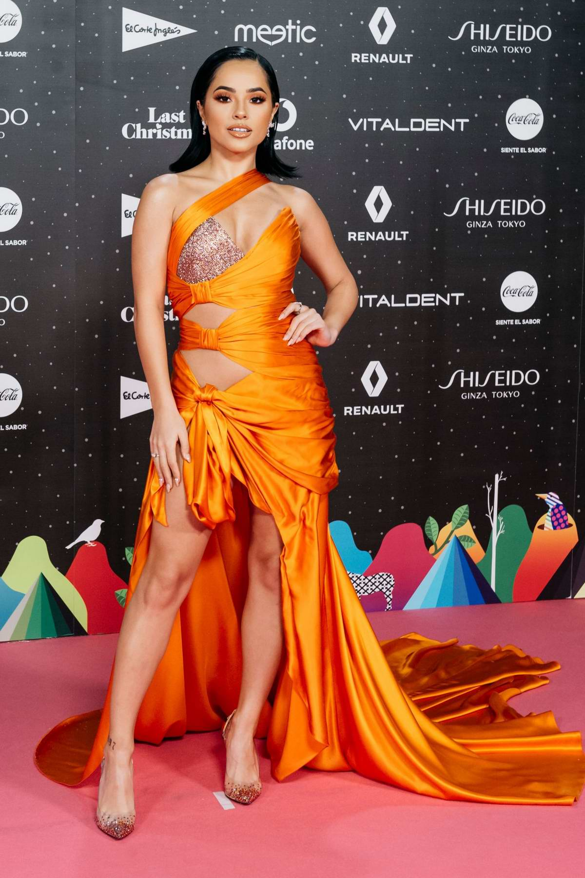 Becky G attends the LOS40 Music Awards 2019 at the WiZink Center in Madrid, Spain