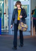 Bella Hadid looks trendy as she touches down at JFK airport in New York City