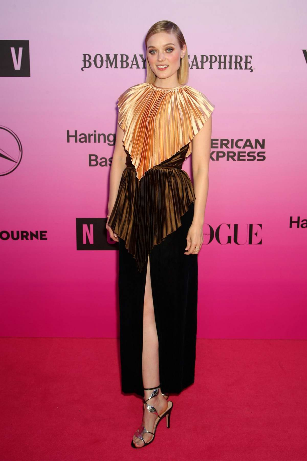 Bella Heathcote attends the NGV Gala in Melbourne, Australia