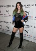 Bella Thorne attends PUMA x Balmain Launch Event at Milk Studios in Los Angeles