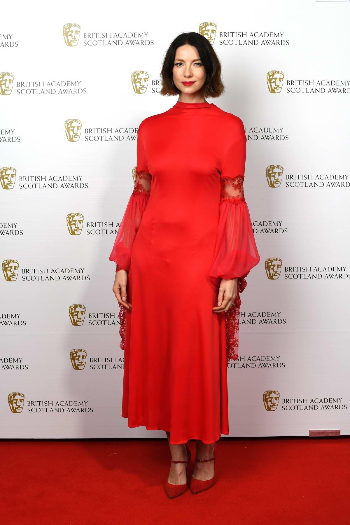 Caitriona Balfe attends the BAFTA Scotland Awards 2019 in Glasgow, Scotland