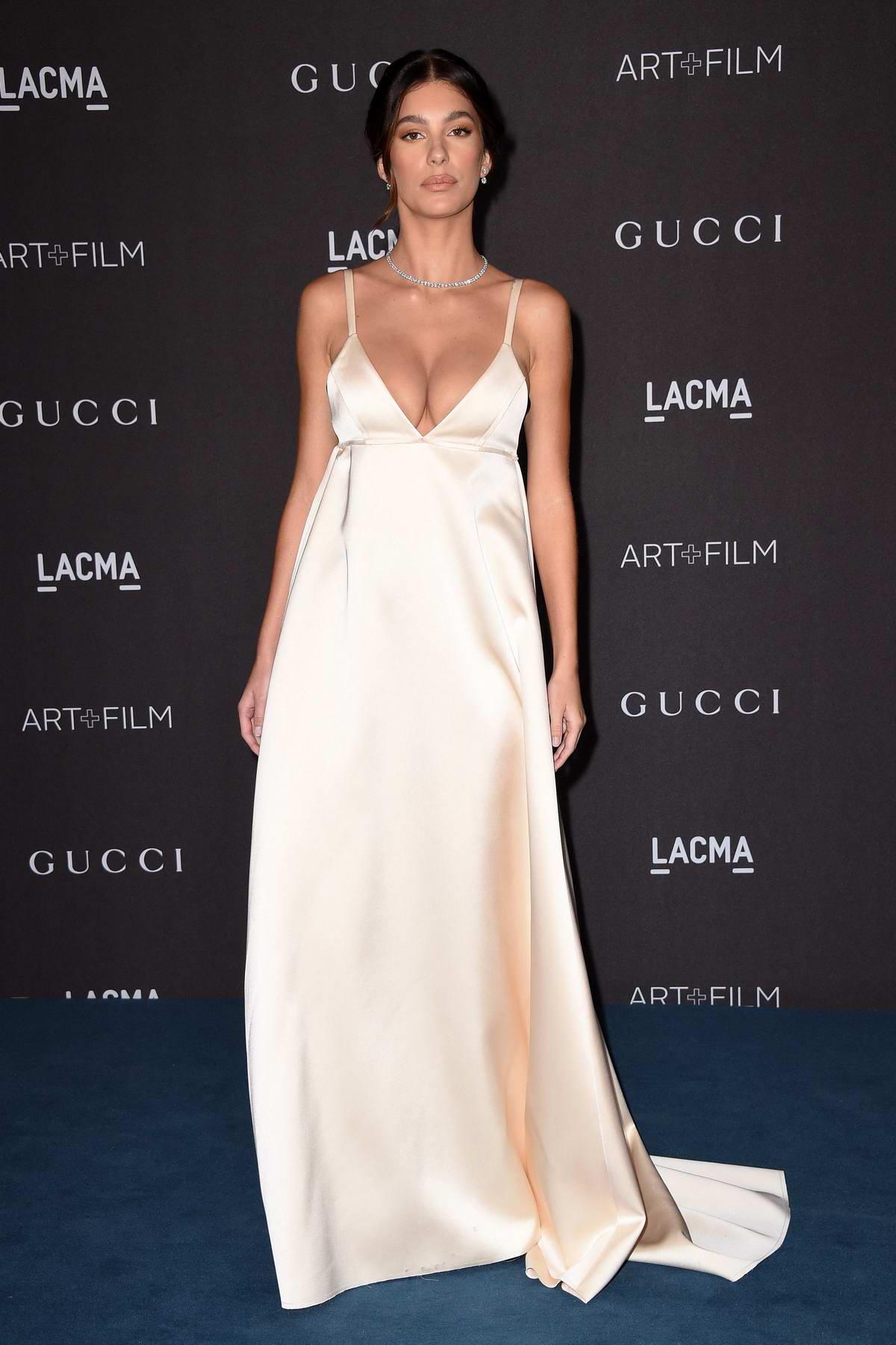 Camila Morrone attends the 2019 LACMA 2019 Art + Film Gala in Los Angeles