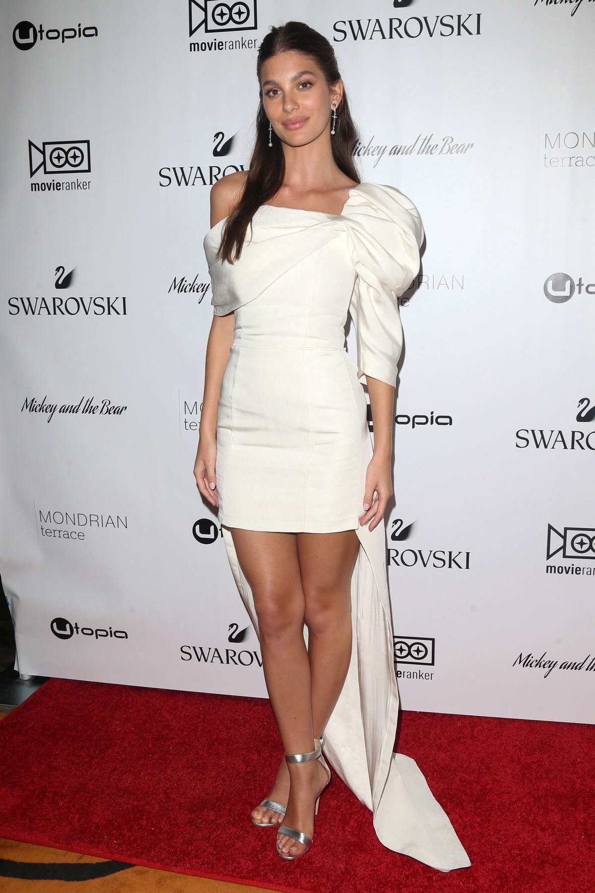 Camila Morrone attends the New York Premiere of 'Mickey and the Bear' at Mondrian Park Avenue in New York City