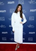 Camila Morrone attends the Newport Beach Film Festival 2019 in Newport Beach, California