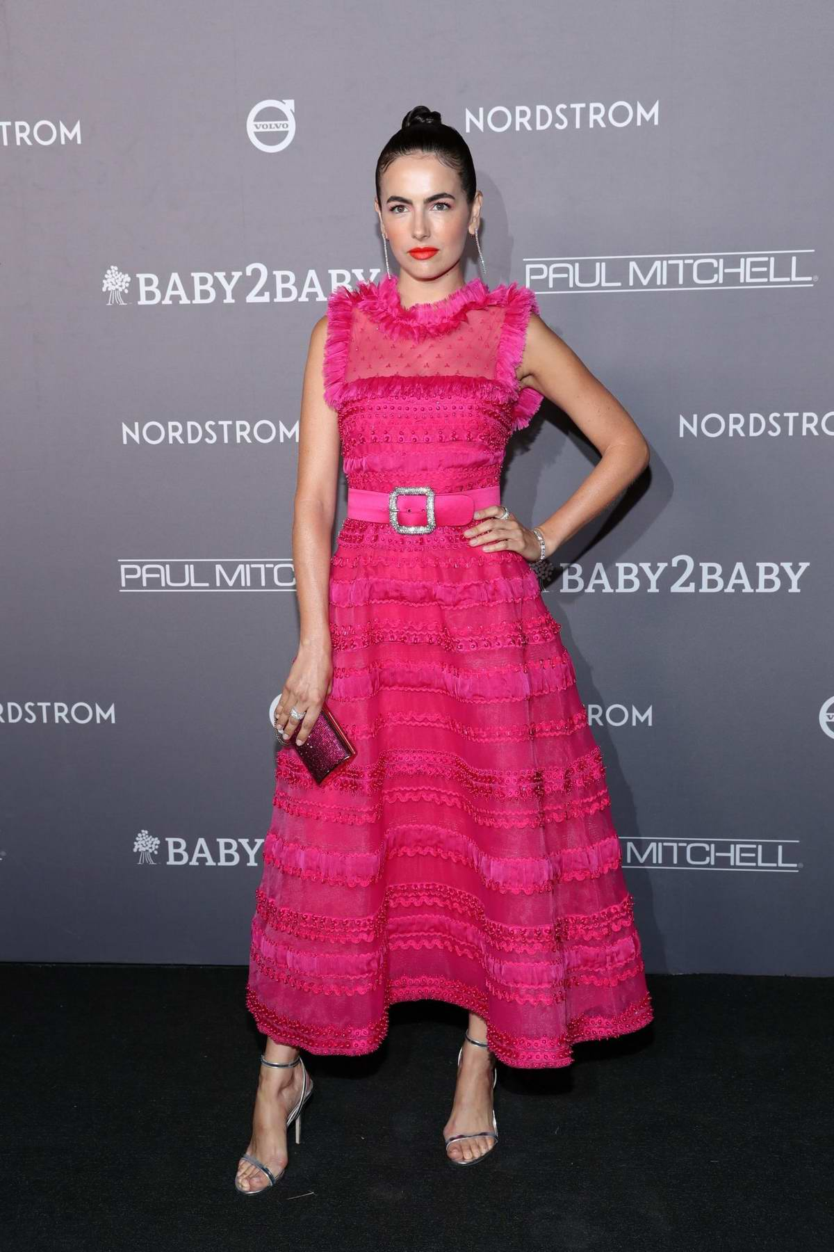 Camilla Belle attends the 2019 Baby2Baby Gala presented by Paul Mitchell at 3LABS in Culver City, California