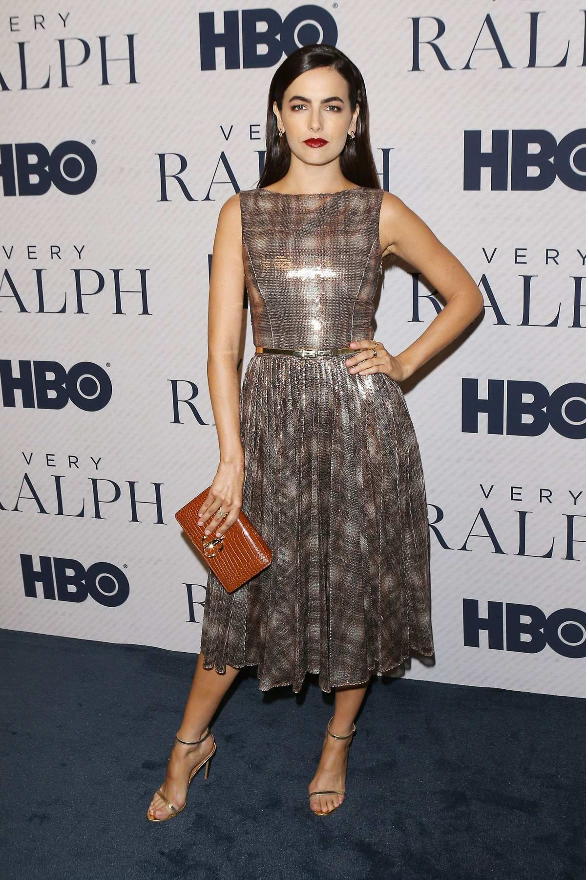 Camilla Belle attends the Premiere of HBO Documentary film 'Very Ralph' at The Paley Center in Beverly Hills, Los Angeles