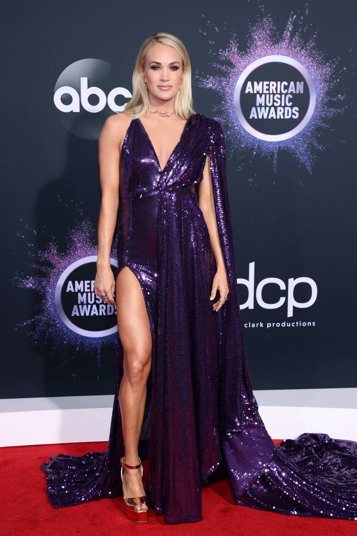 Carrie Underwood attends the 2019 American Music Awards at Microsoft Theater in Los Angeles