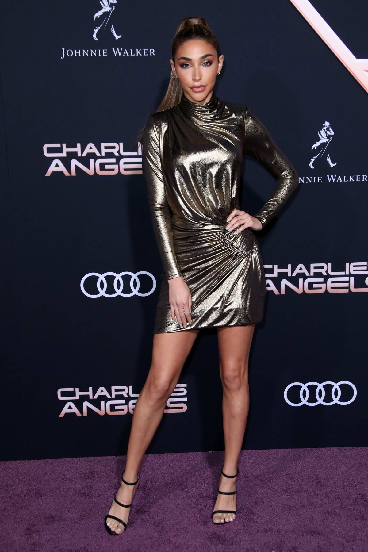 Chantel Jeffries attends the Premiere of 'Charlie's Angels' at Westwood Regency Theater in Los Angeles