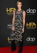Charlize Theron attends the 23rd Annual Hollywood Film Awards at The Beverly Hilton Hotel in Beverly Hills, Los Angeles