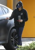 Chloe Grace Moretz goes incognito in a hoodie as she returns to her car after her workout in West Hollywood, Los Angeles