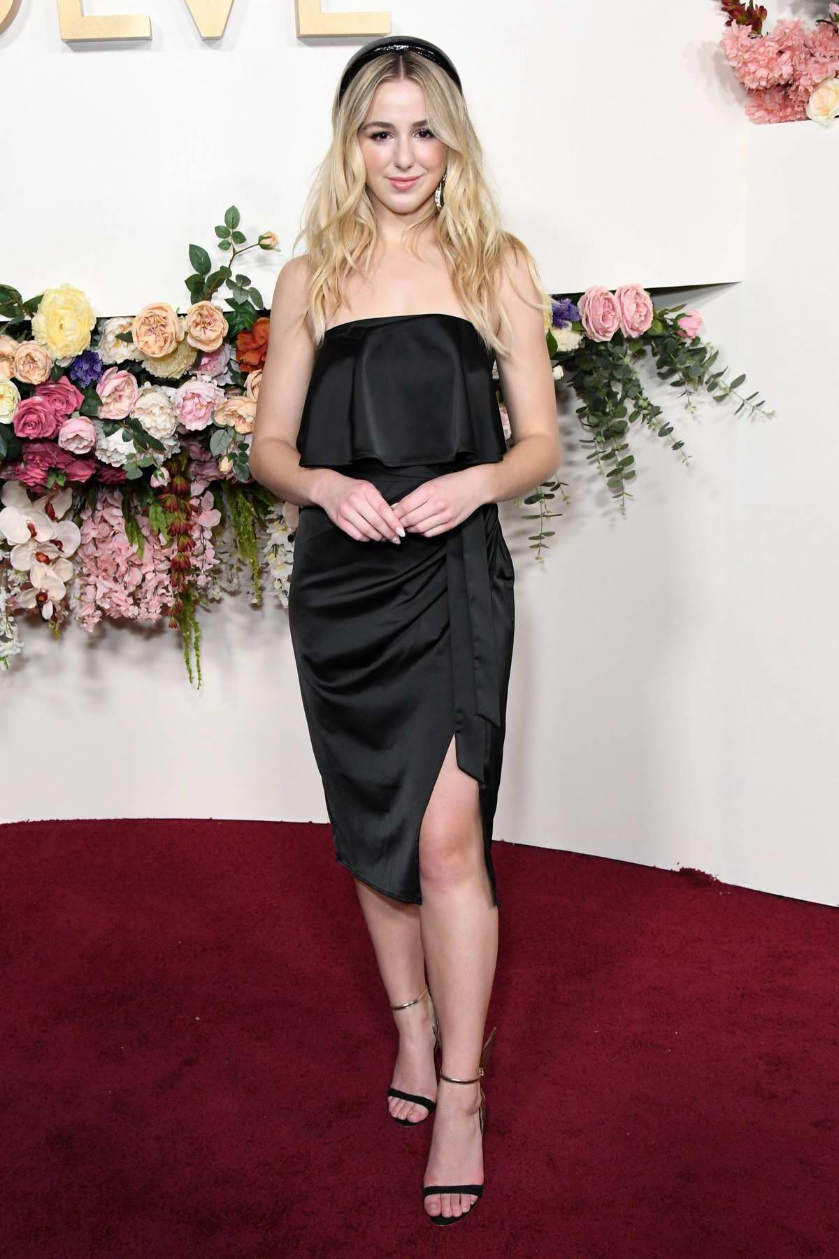 Chloe Lukasiak attends the 3rd Annual REVOLVE Awards at Goya Studios in Hollywood, California