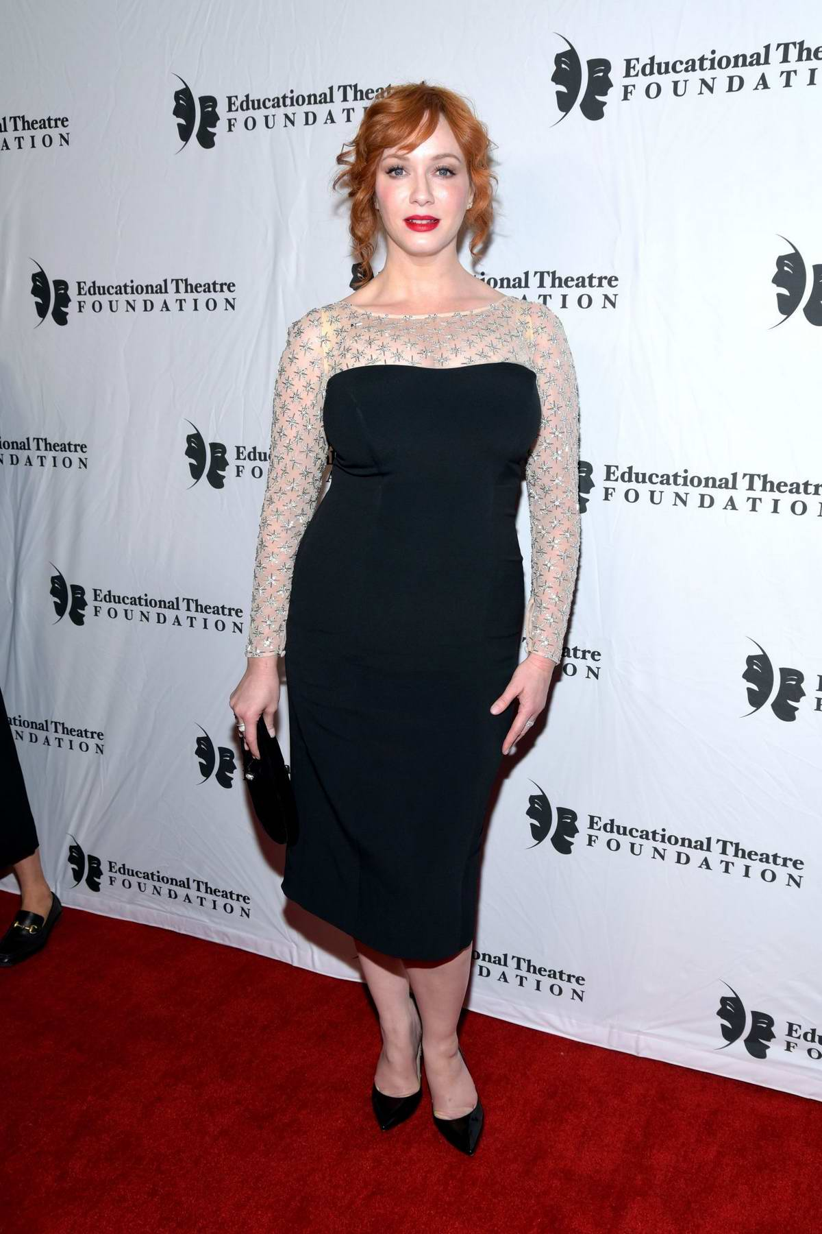 Christina Hendricks attends the 2019 annual Thespians Go Hollywood Gala at Avalon Hollywood in Los Angeles