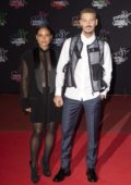 Christina Milian and Matt Pokora attend the 21st NRJ Music Awards in Cannes, France