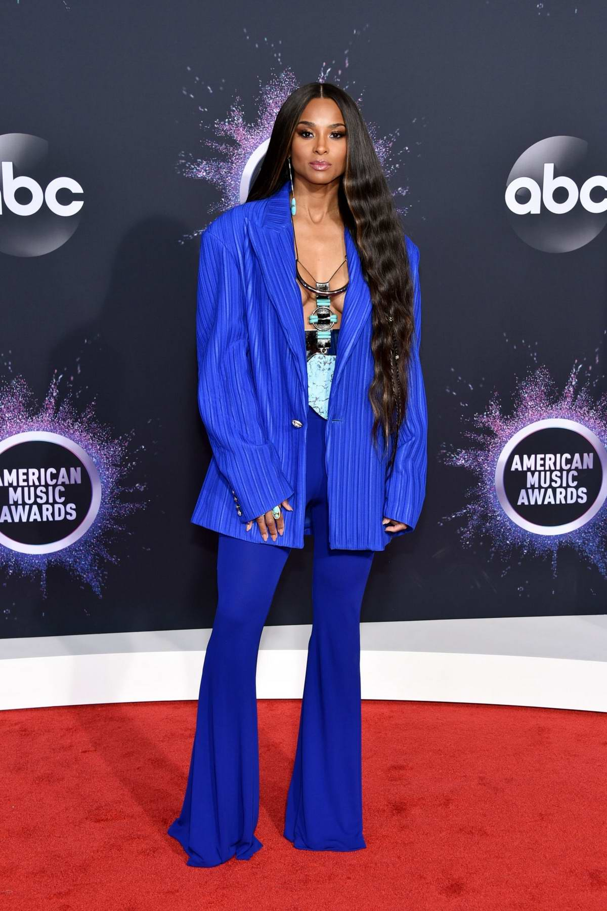 Ciara attends the 2019 American Music Awards at Microsoft Theater in Los Angeles