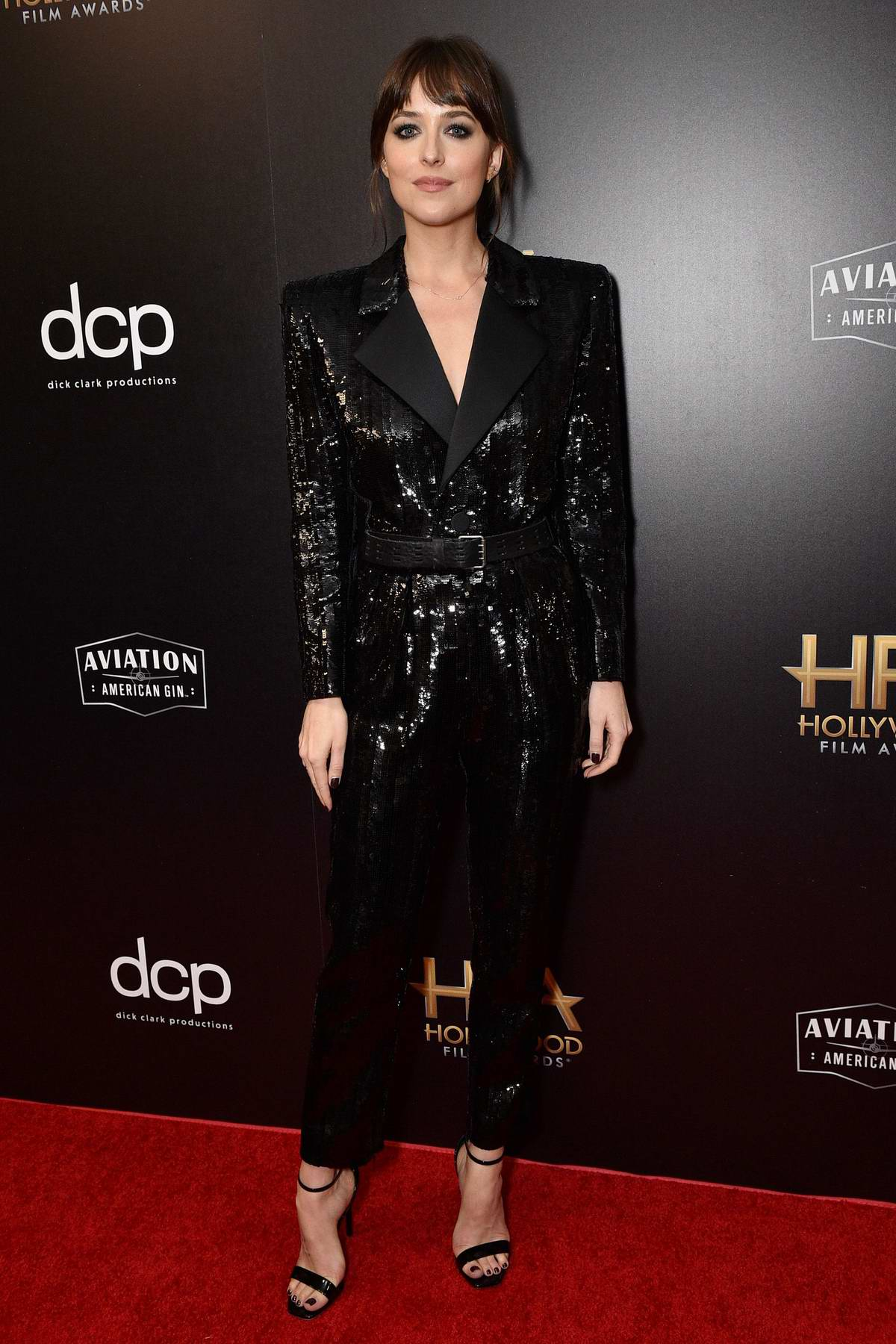 Dakota Johnson attends the 23rd Annual Hollywood Film Awards at The Beverly Hilton Hotel in Beverly Hills, Los Angeles