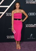 Dania Ramirez attends the Premiere of 'Charlie's Angels' at Westwood Regency Theater in Los Angeles