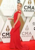 Danielle Bradbery attends the 53rd annual CMA Awards at the Music City Center in Nashville, TN